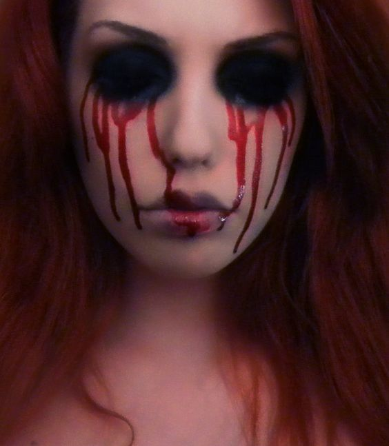 bloody-halloween-makeup