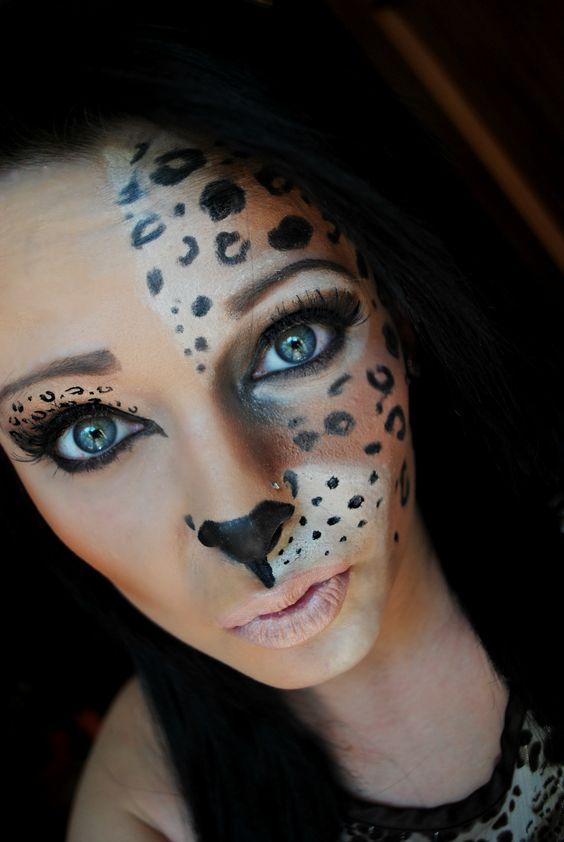 cheetah-halloween-makeup