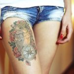 74 Awesome Thigh Tattoos Design